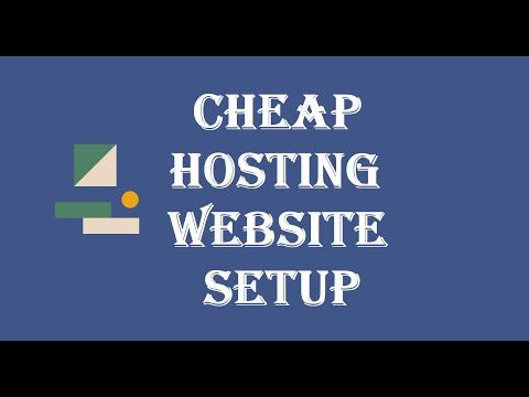 My progress setting up my new site on the 2$ cheap hosting