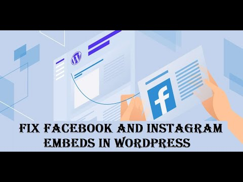 Fix Facebook or Instagram Embeds Not Working on your WordPress site