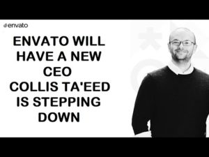 Envato will have a new CEO – Collis Ta'eed is stepping down