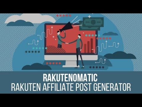 Rakutenomatic – Rakuten Affiliate Automatic Post Generator Plugin for WordPress