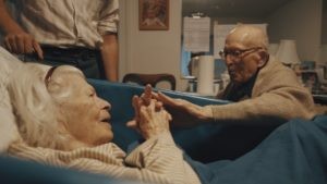 Arthur (105) and Marcia (100) on the night before their 80th anniversary