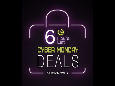 ⏰ Last 6 HOURS of the CYBER MONDAY Discounts! Last chance to save 50%