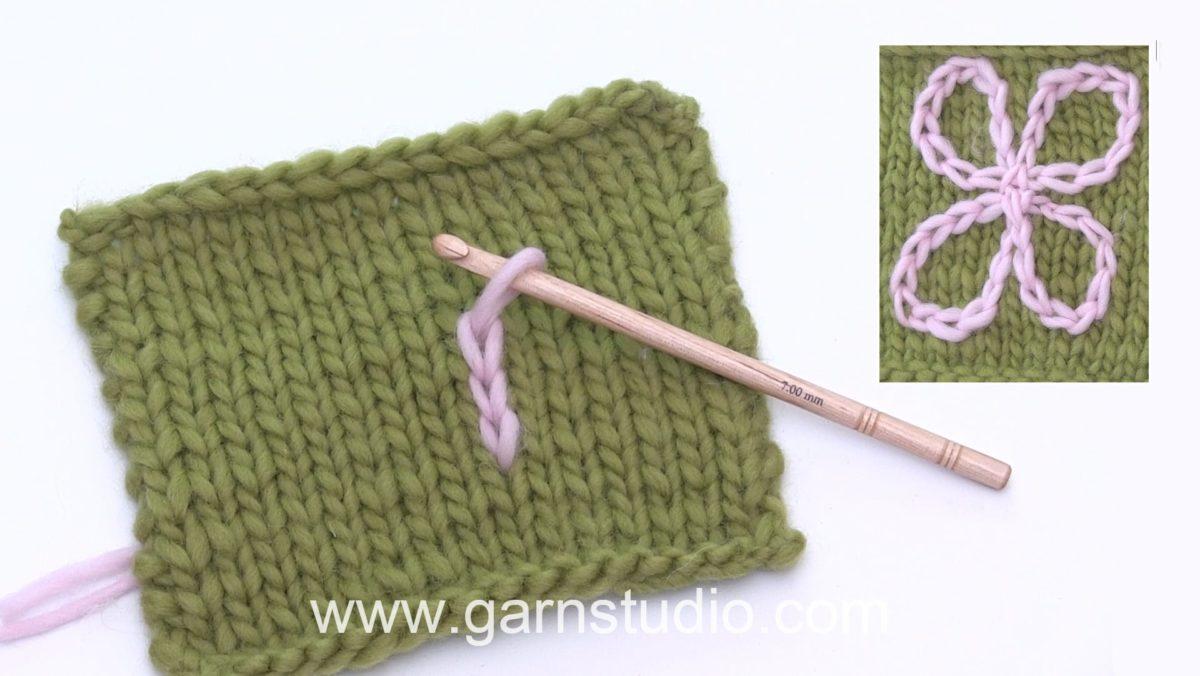 How to crochet decorative stripes