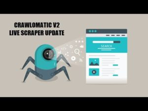 Crawlomatic v2 Update: Live Scraping Support Added