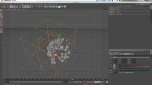 Using the Cinema 4D Inheritance Effector Part 1: Trigger or Offset Keyframed Cloned Objects