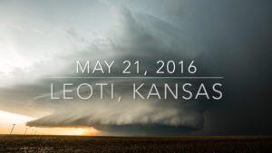 Leoti, KS Supercell Timelapse – May 21, 2016