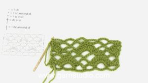 How to crochet IN and AROUND a stitch