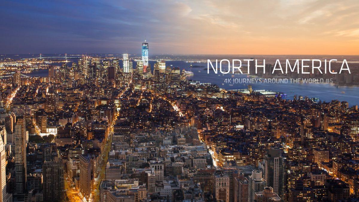 North America 4K Timelapse