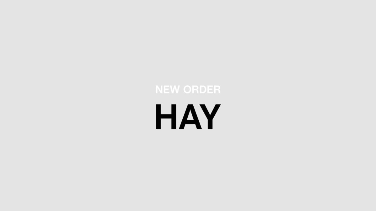 How to use the New Order App by HAY
