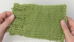 How to extend a knitted sleeve or body