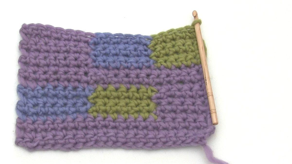 How to crochet a motif