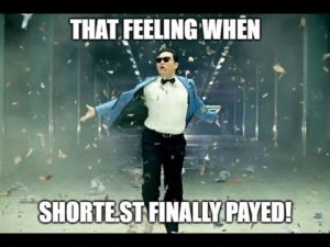 Shorte.st Link Shortener Finally Payed! Find out how!