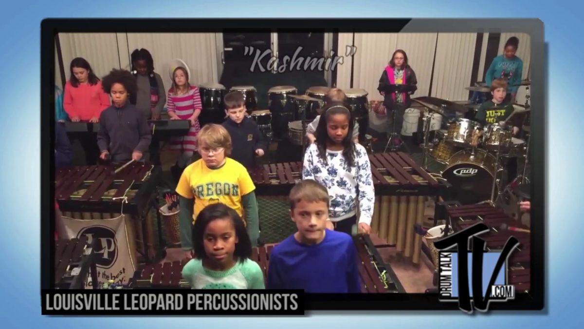 Louisville Leopard Percussionists on Drum Talk TV!