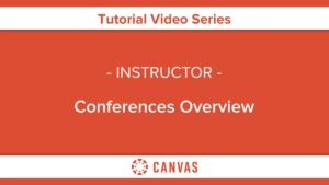 315 – Conferences Overview
