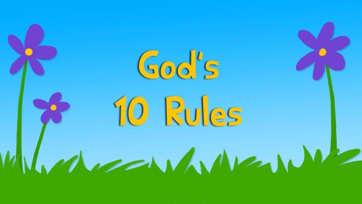 God's 10 Rules (3QB13)