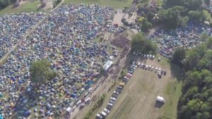 KARKLĖ – Live Music Beach 2014 Aerial footage