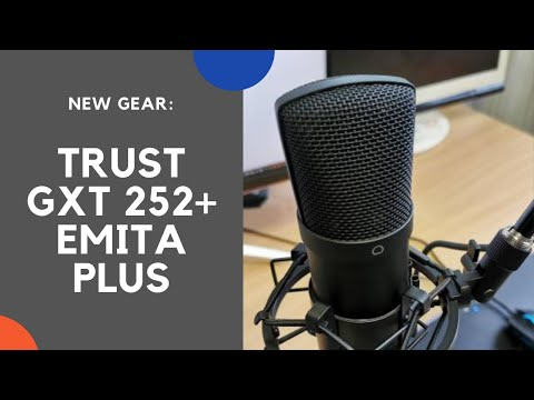 Gear Upgrade: Trust GXT 252 Emita Plus and XSplit VCam bundled software (free license for 1 year)