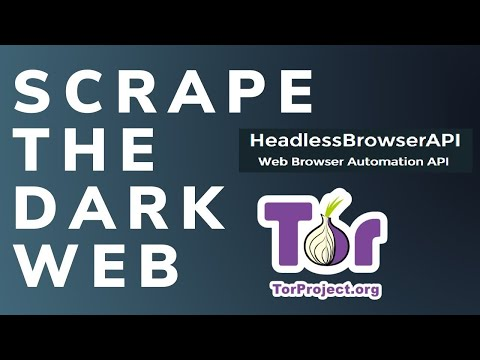 Dark Web scraping using HeadlessBrowserAPI (Tor endpoint)