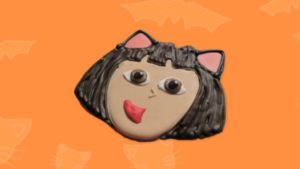 Dora and Diego Halloween Cookies – Nick Jr. Cooking With Kids Video