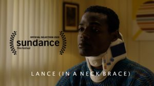 Lance (in a Neck Brace)