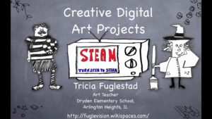 Creative Digital Projects that put STEAM in STEM