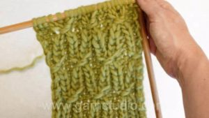 How to knit a smock pattern