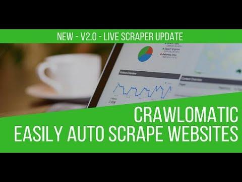 Crawlomatic Tutorial Video 1: Basic Setup of Single and Serial Website Scraping
