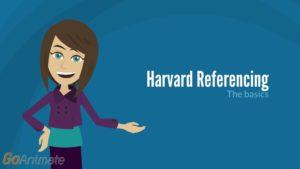 Harvard Referencing: the basics