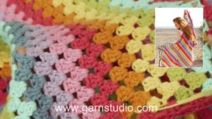 How to weave in cotton tails