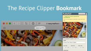 RECIPES – The Recipe Clipper (Bookmark)