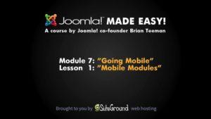 7.1 – Mobile Modules