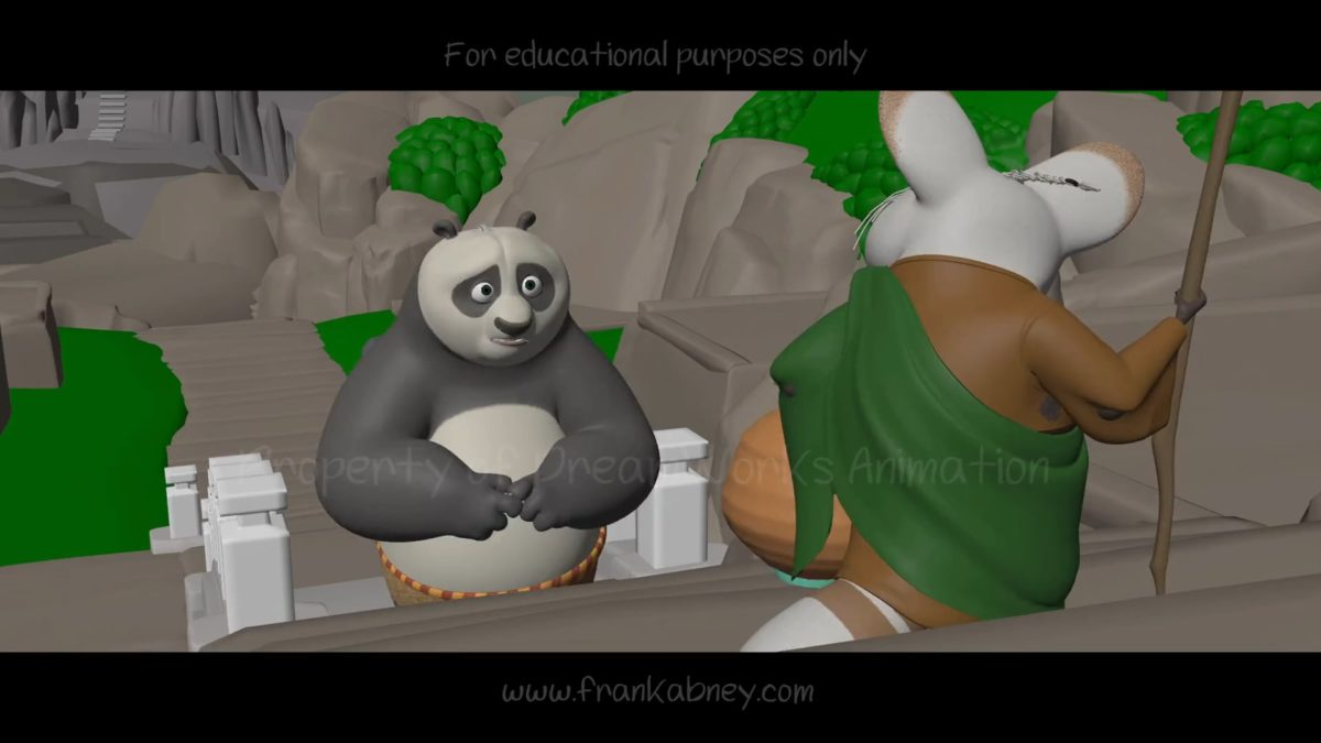 Frank Abney – Kung Fu Panda 3 shot progression