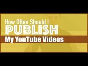 I made a decision: I am changing the new video publishing schedule for this YouTube channel