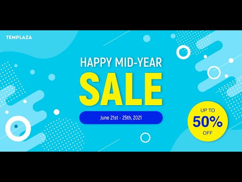Envato's Mid Year Sale 2021 – Get 50% OFF for many Plugins and Themes!