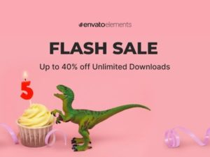 Envato Elements Flash Sale 2021 – 55 Million Design Assets At 40% OFF [for a limited period]