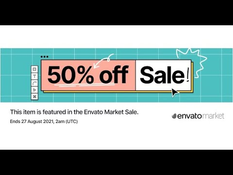 Envato turns 15! To celebrate, check this 50% discount for my plugins!