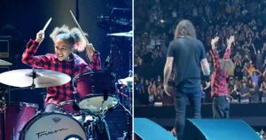 Watch Drum Prodigy Nandi Bushell Perform With Foo Fighters as an Entire Arena Chants Her Name