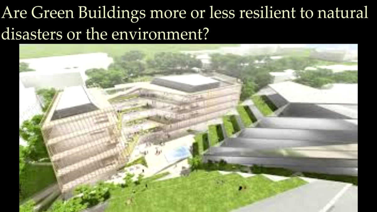 """""""Green Building Standards: How to Make Existing Buildings Healthier and Better for the Environment"""" with Barry Giles of BREEAM"""