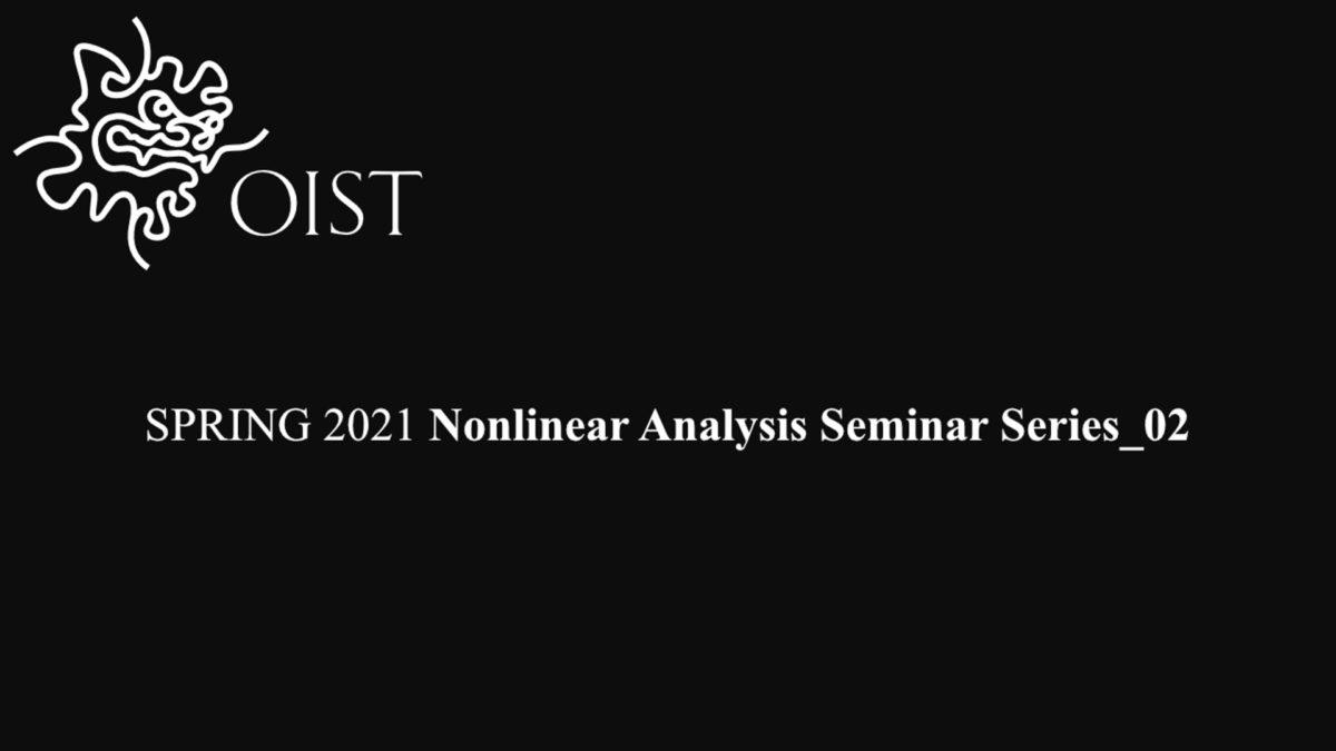 SPRING 2021 Nonlinear Analysis Seminar Series_02
