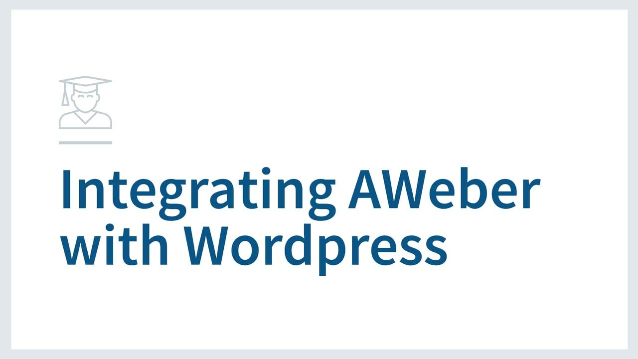 Adding the WordPress Widget to Your WordPress Site