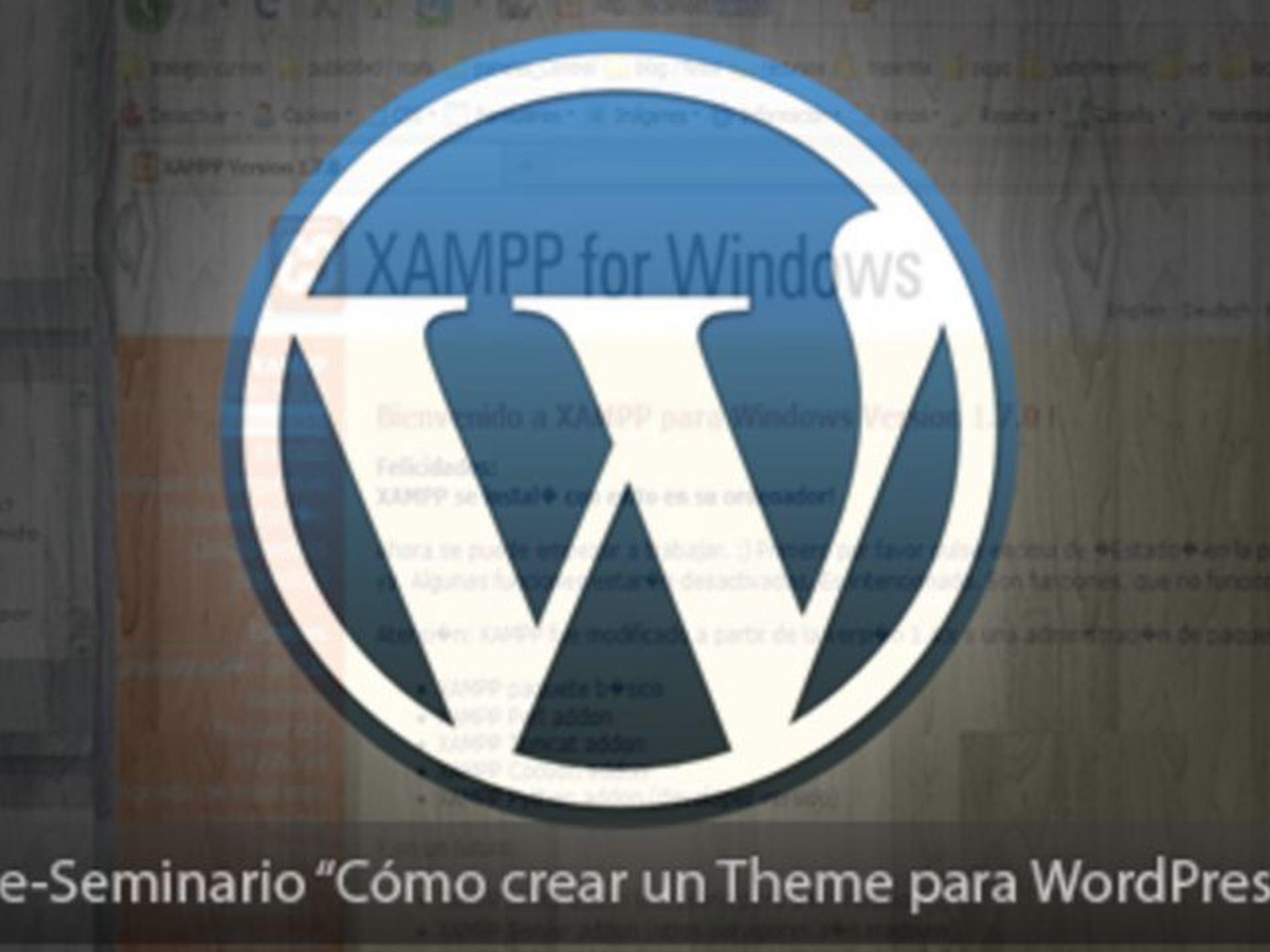 Cómo crear un theme para WordPress (2ª parte)