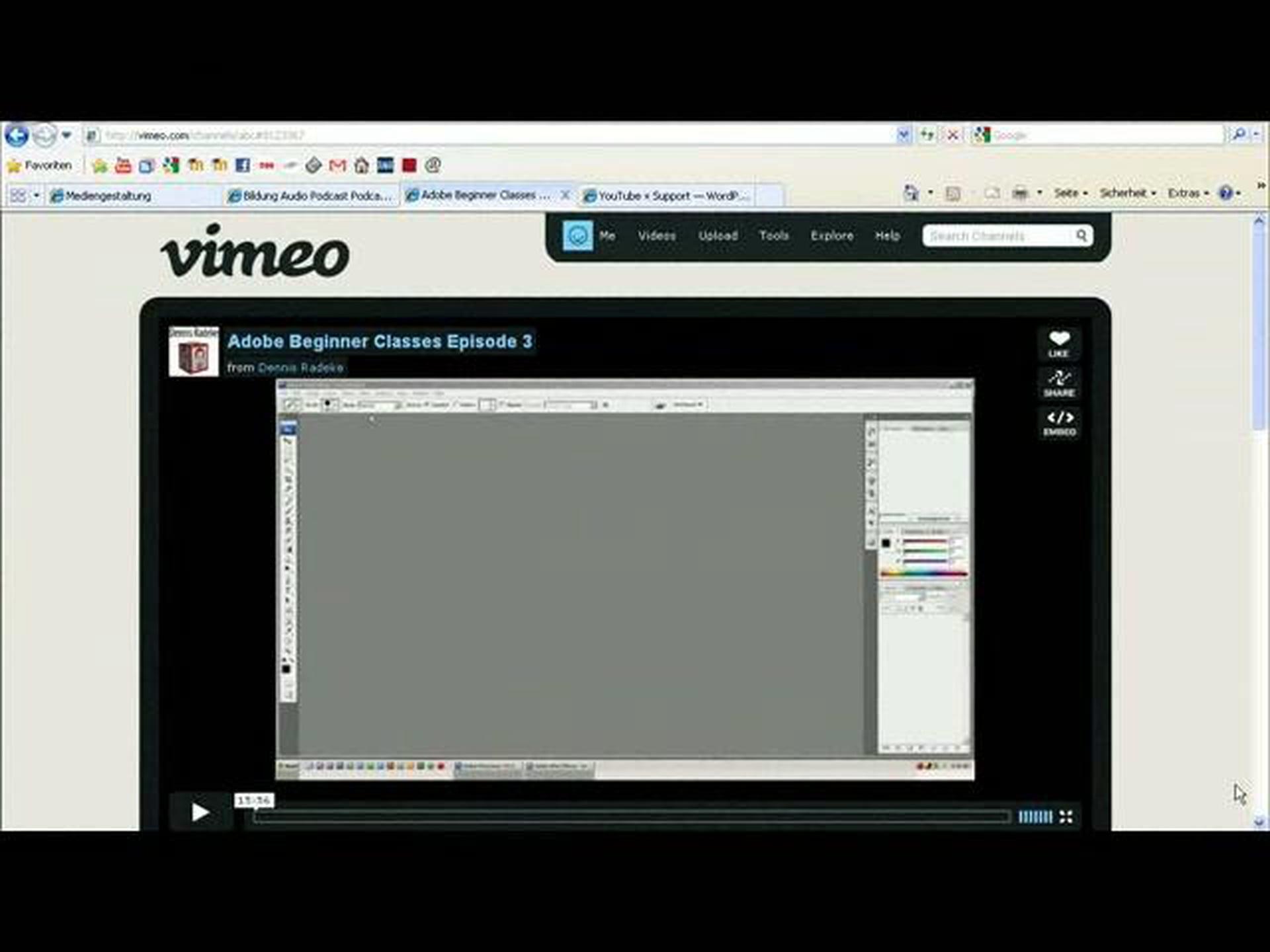 Vimeo Video in WordPress einbinden