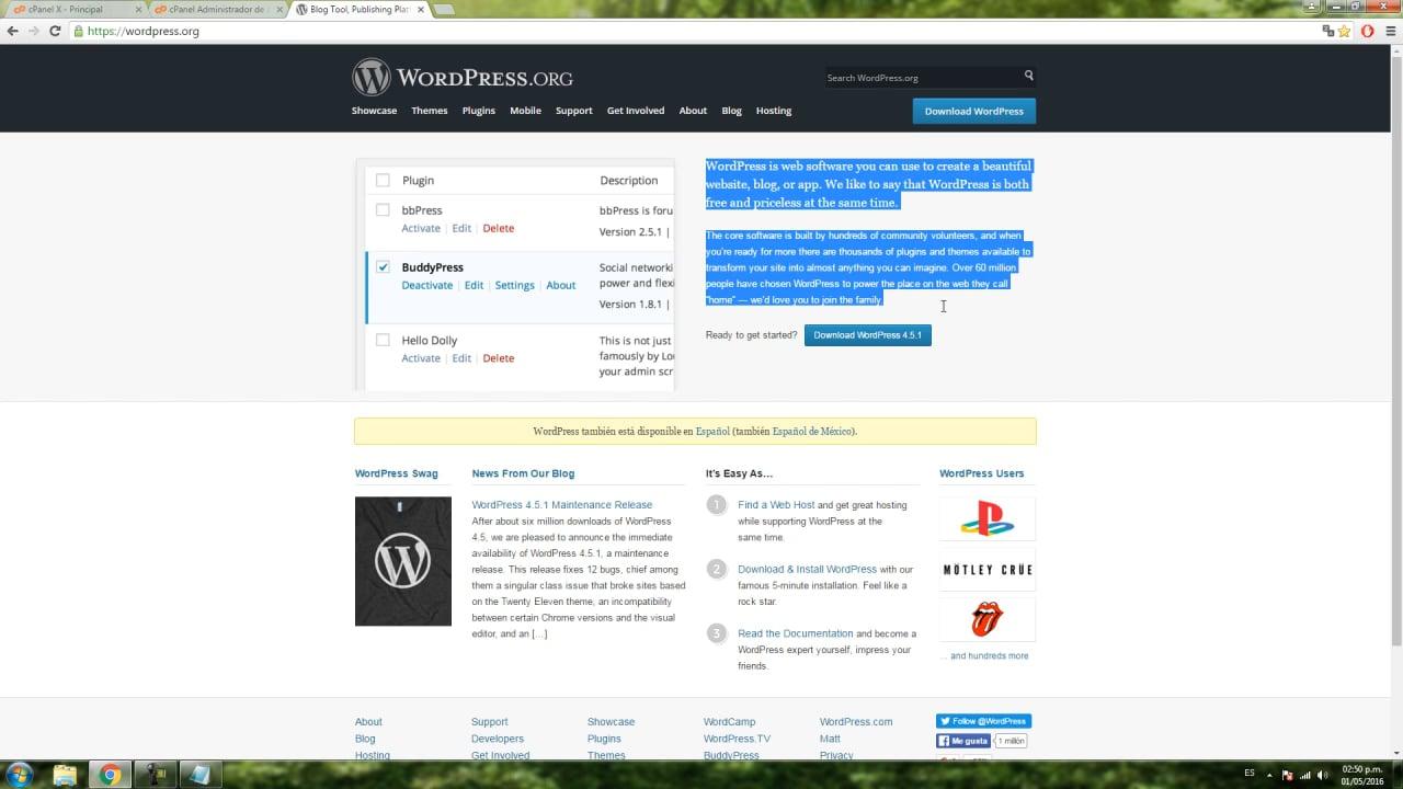 1_Instalación de WordPress y Themes