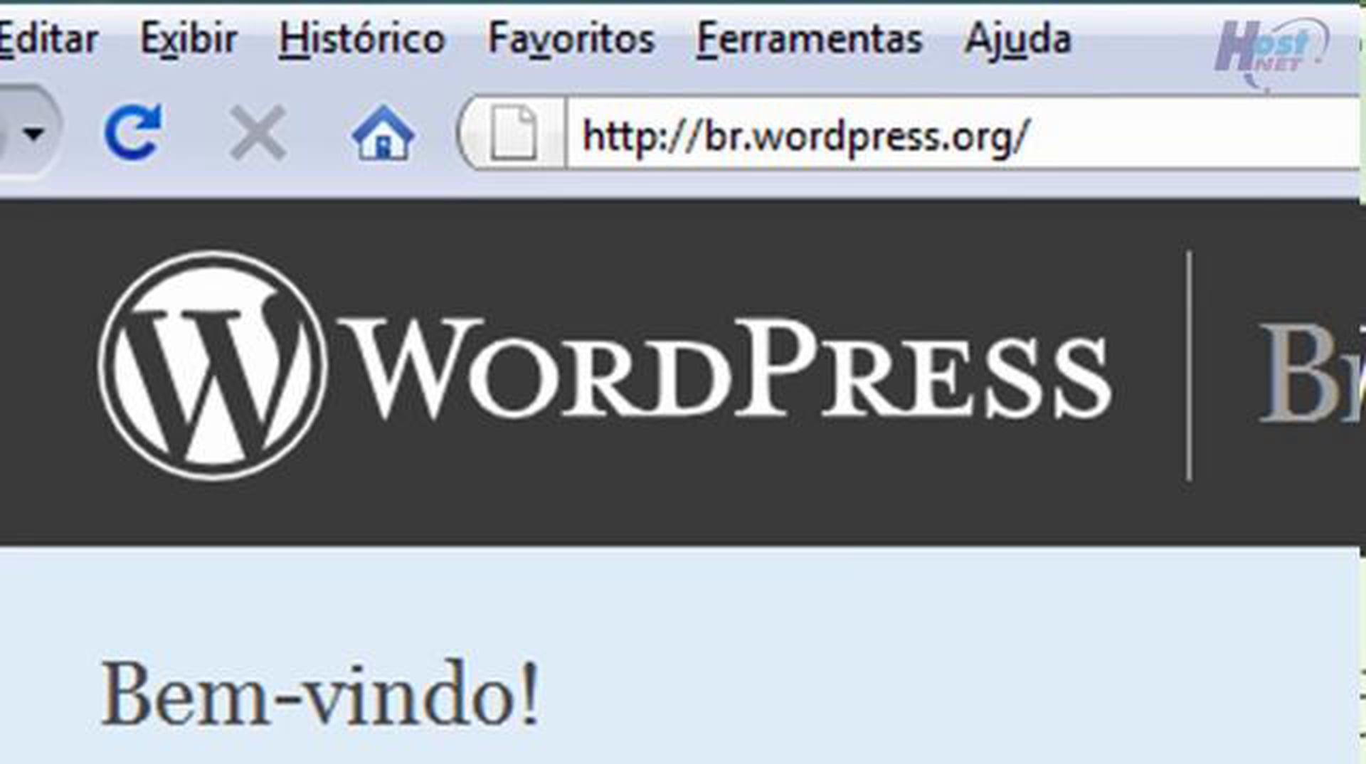 WordPress – Instalando o WordPress – Vídeo 1