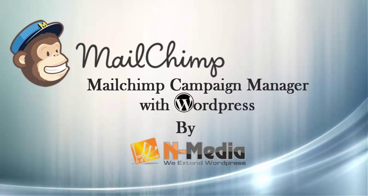 Create MailChimp Campaigns in WordPress – WordPress Plugin