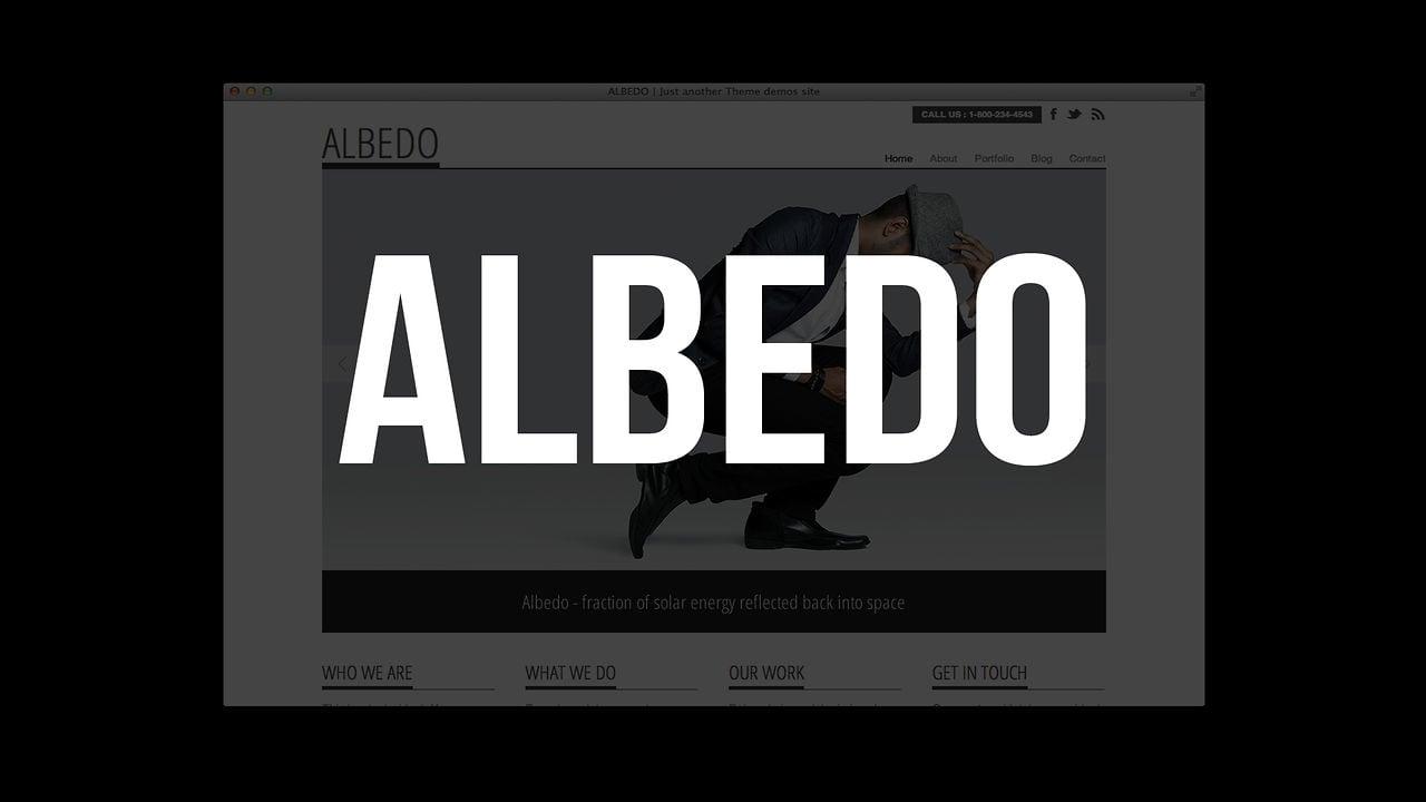 Albedo WordPress Theme
