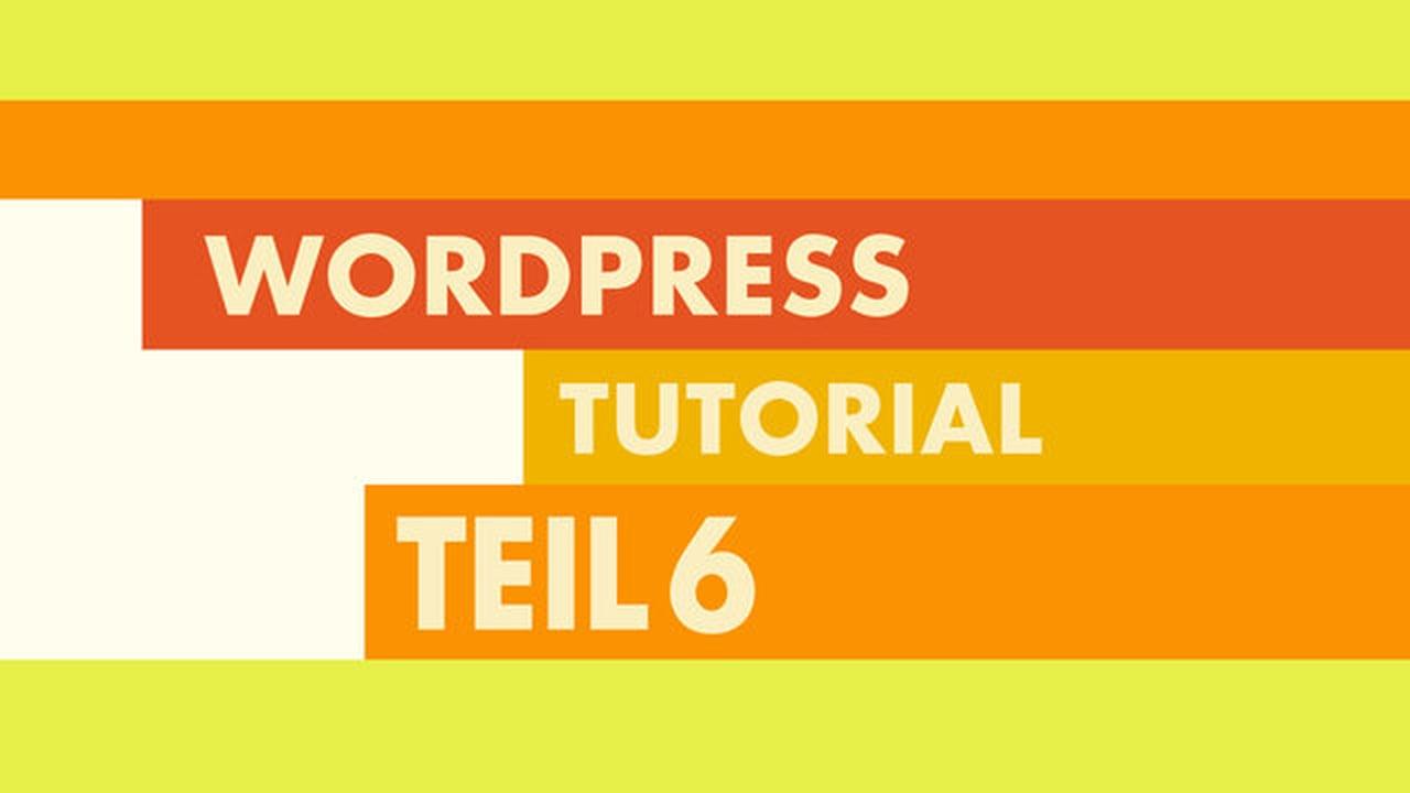 WordPress Video-Tutorial Teil 6: WordPress Testdaten importieren