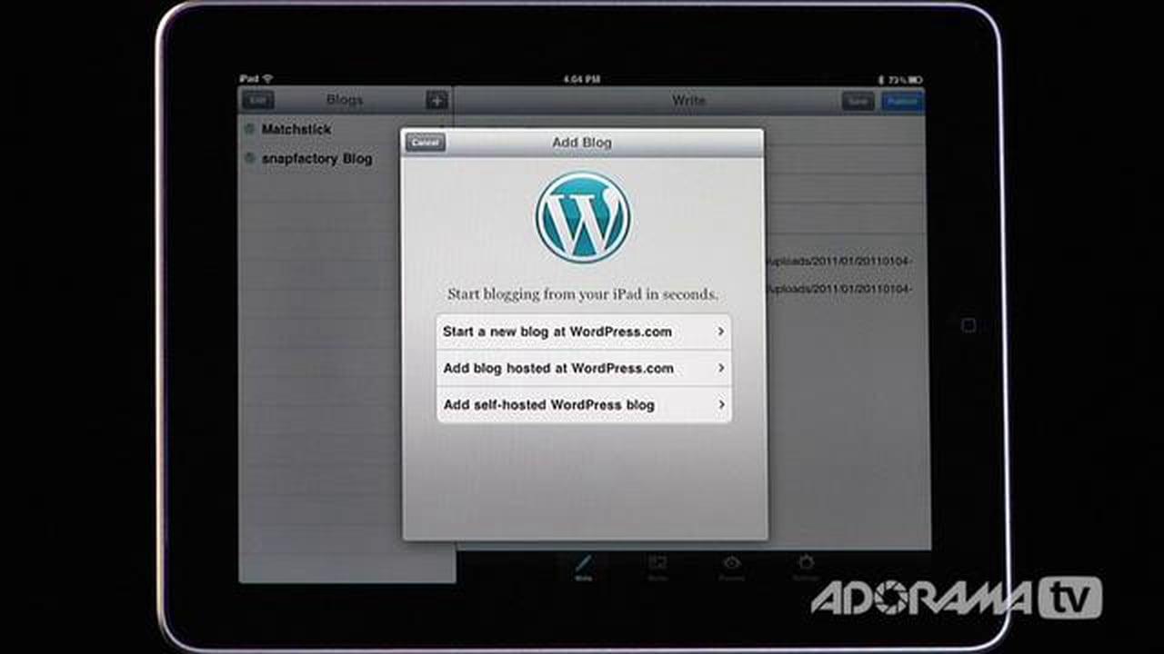 iPad Photography App: WordPress: Adorama Photography TV