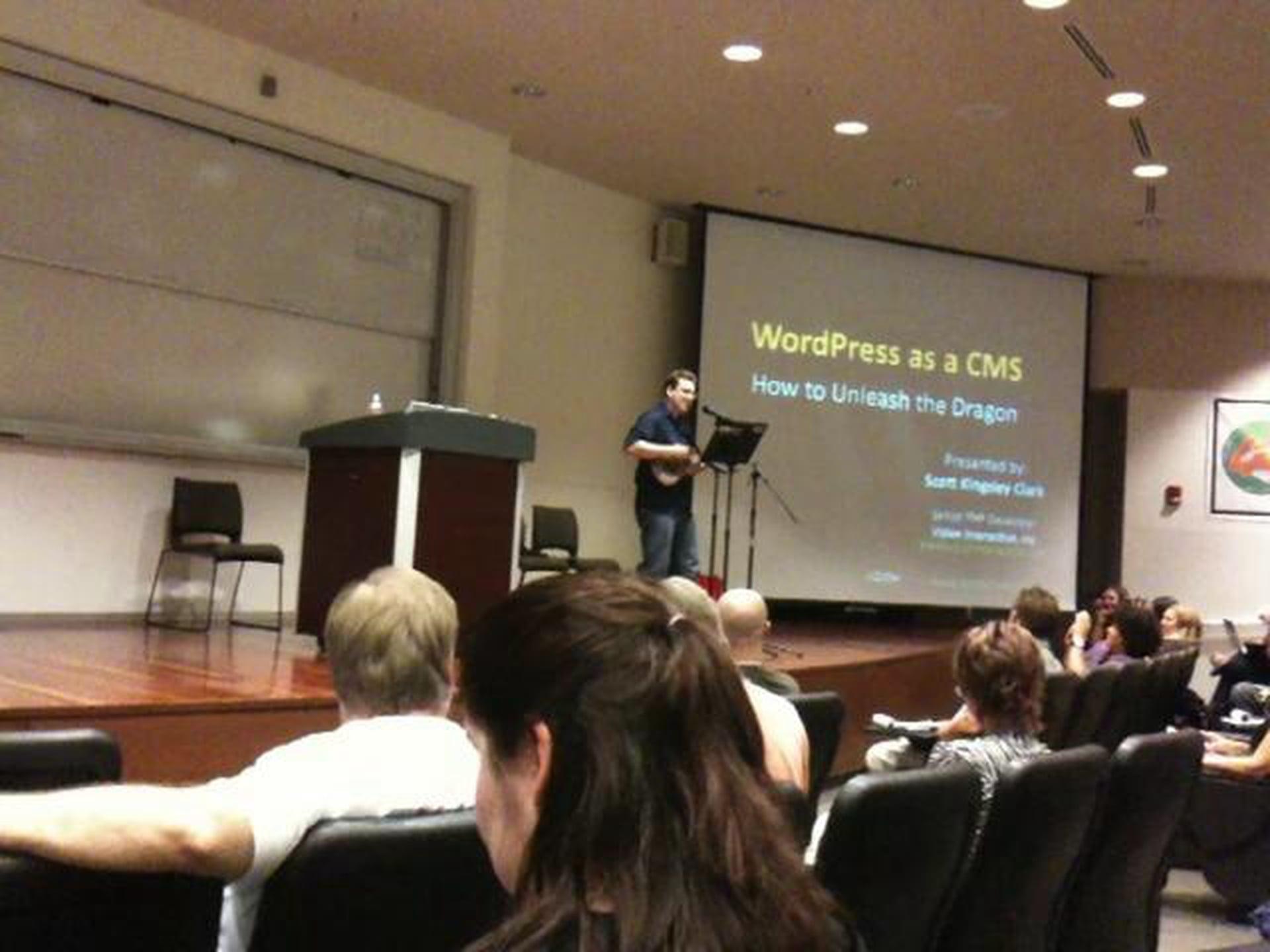 Using WordPress as a CMS