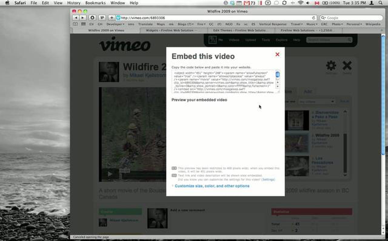 How to publish Vimeo videos on WordPress